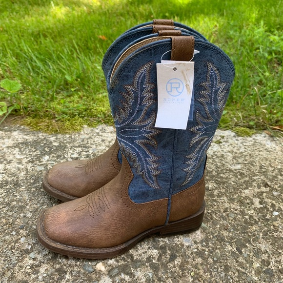 3c376c2bc87 Roper cowboy boots size 11 little kids NWT